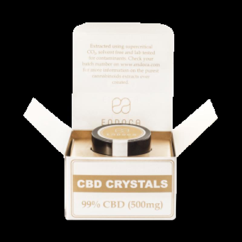 Endoca Cannabis Crystals 99% CBD 500mg.